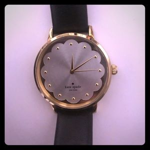 Kate Spade scalloped watch